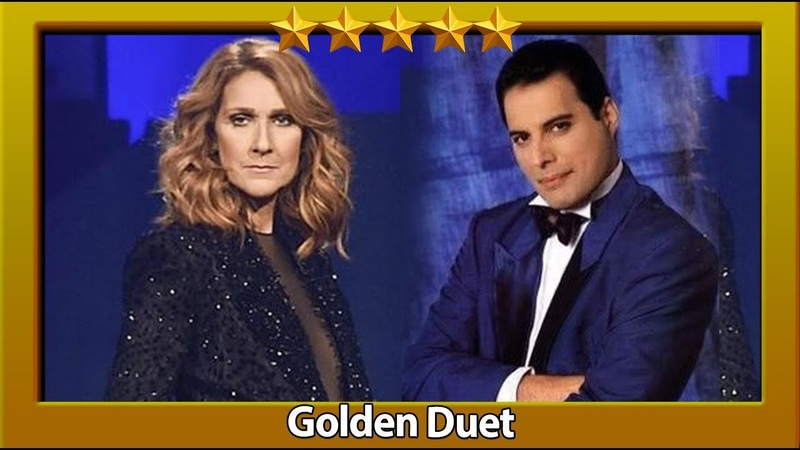 Freddie Mercury Celine Dion - The Show Must Go On (Live) [GOLDEN DUET]