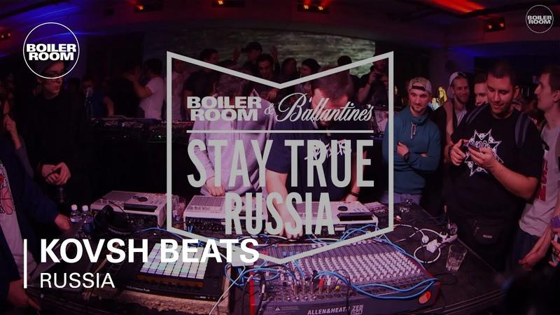KOVSH Beats Boiler Room Ballantines Stay True Russia Live Set
