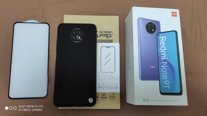 Защитное стекло KEYSION для Xiaomi Redmi Note 9T 5G ► ТЕРПЕТЬ НЕЛЬЗЯ СНИМАТЬ
