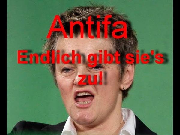 Künast B90/Grüne beantragt Antifa Demokratiefördergesetz