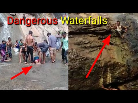 The Accident Occurred Near Waterfalls 🙏 Ajeeb Ghatna Jo CCTV Camera Mein Hui Kaid Pt 13 Shorts