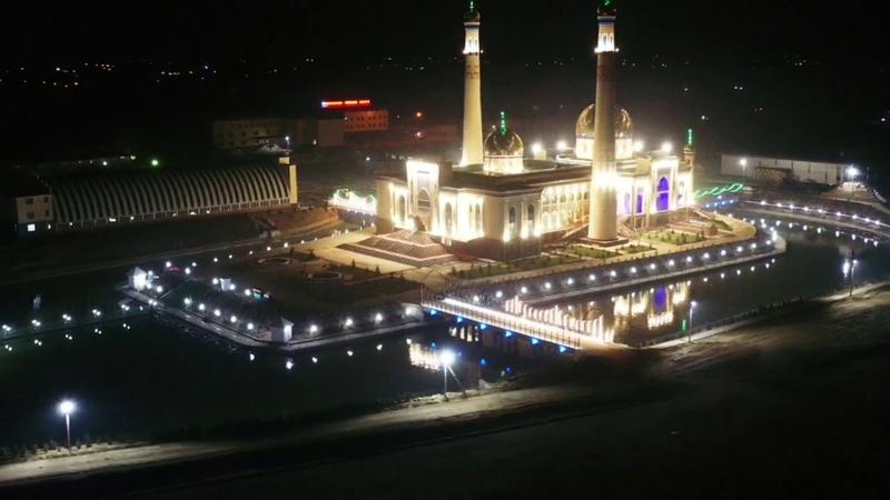 Ислам орталығының түнгі көрінісі 15 03 2020