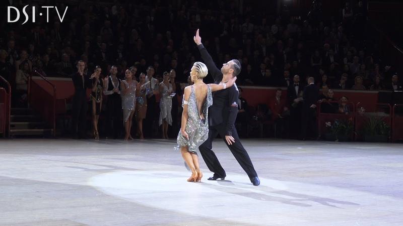 Ferdinando Iannaccone Yulia Musikhina Honour Dance and Professional Announcement DSI TV