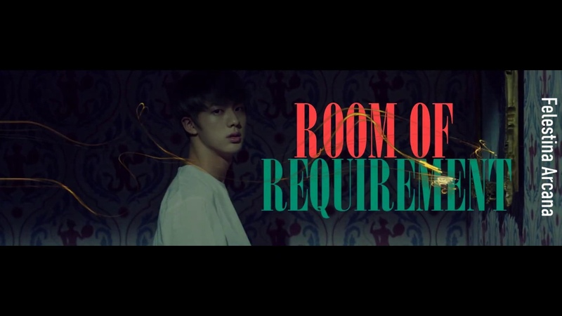 Fanfic teaser Room of Requirement BTS Слэш AU HarryPotter