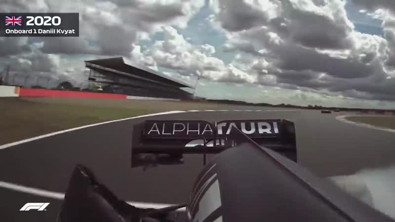 Daniil Kvyats Massive Crash 2020 British Grand Prix
