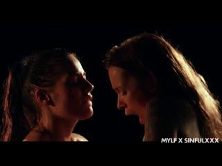Eveline Dellai and Angel Piaff - Three Is A Party [All Sex, Hardcore, Blowjob, Threesome, Artporn]