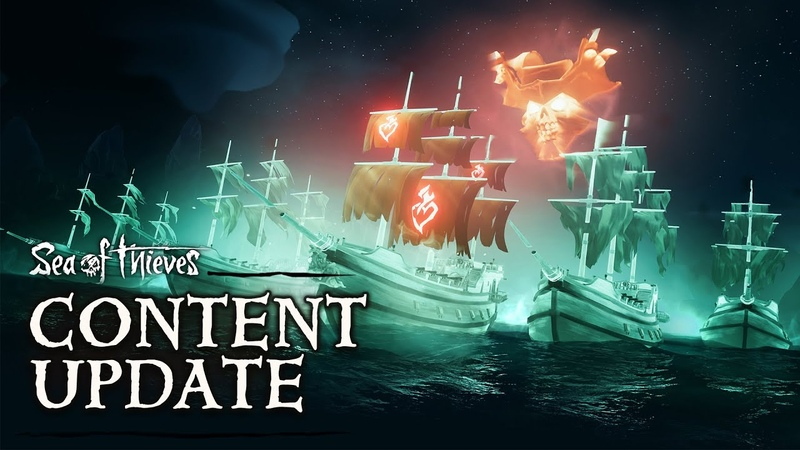 Haunted Shores: официальное обновление контента Sea of Thieves