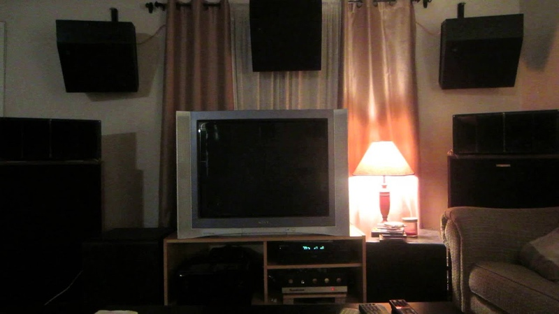 KLIPSCH CORNWALL 1 w Altec lansing 511b horn and HEATHKIT SA-2 Tube Amplifier jazz