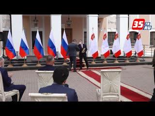В Вологде прошла церемония вручения наград ко Дню строителя