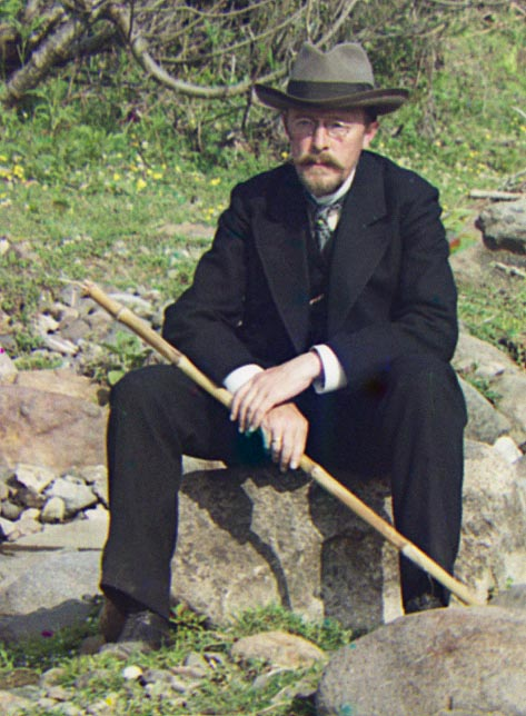 31 августа родился великий русский фотограф Сергей Прокудин-Горский