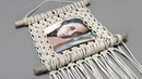 Easy Macrame Photo Frame Wall Hanging Tutorial | Home Decor Ideas