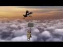 Прикол Смешной Мультик Падение из Самолета _ Down to Eart