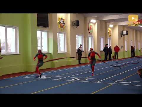 Женщины Финал 100 метровой полосы с препятствиями Чемпионат Беларуси по ПСС Гродно