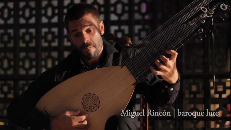 Miguel Rincón J.S. Bach Sonata BWV 1001 Adagio