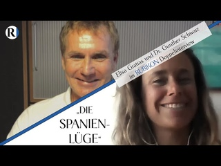 """RUBIKON: Im Gespräch: """"Die Spanien-Lüge"""" (Elisa Gratias, Gunther Schwarz und Flavio von Witzleben)"""