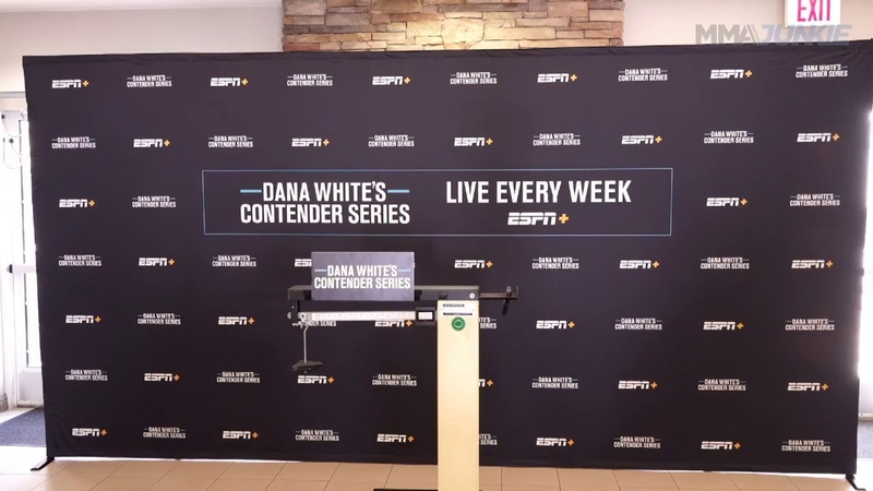 Dana White's Contender Series 27 official weigh in