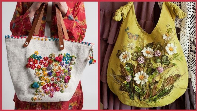 Casual denim handbags collection Elegant denim bags collection for girls