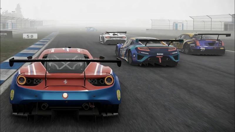 Прорыв с 5го на 1ое место в первом круге Project CARS 2 Online