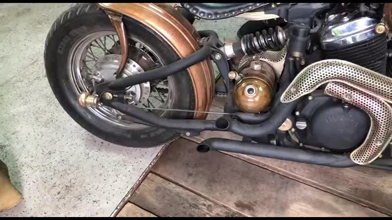Steampunk bobber sound