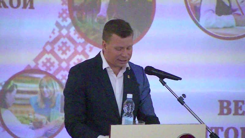 Отчёт главы Вельского района Дмитрия Дорофеева за 2019 год