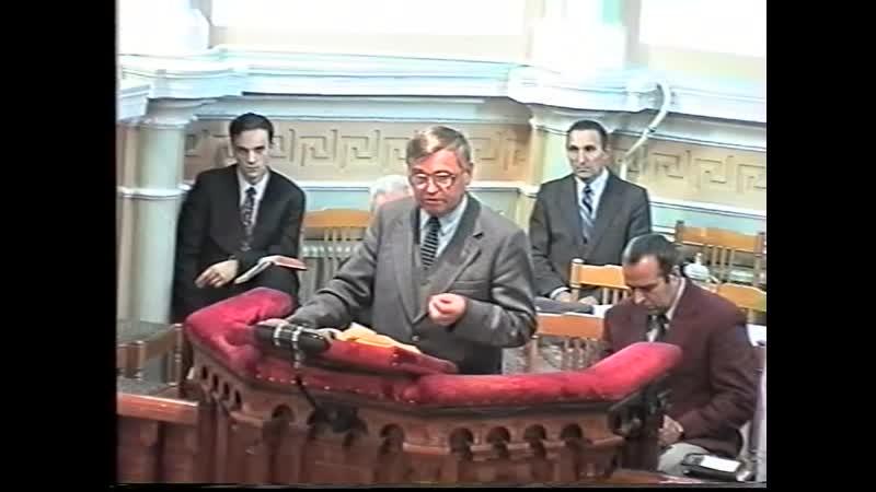 Богослужение 3 сентября 1998 года Архивная запись