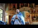 Проповедь о.Владимира на Праздник Благовещения Пресвятой Богородицы