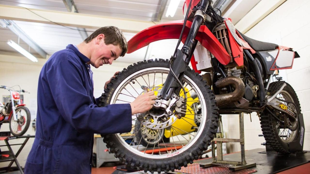 Общие виды ремонта мотоциклов