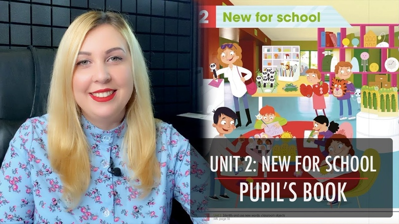 ACADEMY STARS 1 UNIT 2 NEW FOR SCHOOL PUPIL'S BOOK