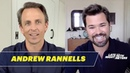 Andrew Rannells Got Self-Conscious Filming Sex Scenes with His Boyfriend for Black Monday