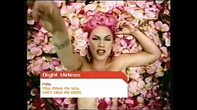Pink - you make me sick mtv