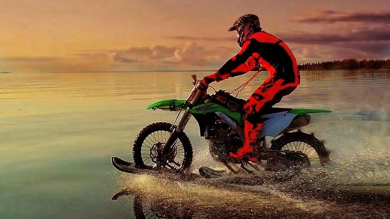 Stepan Maslov | Watercross on Kawasaki KX450F
