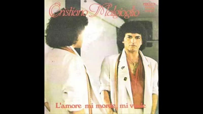 Cristiano Malgioglio LAmore Mi Morde Mi Vuole 1979