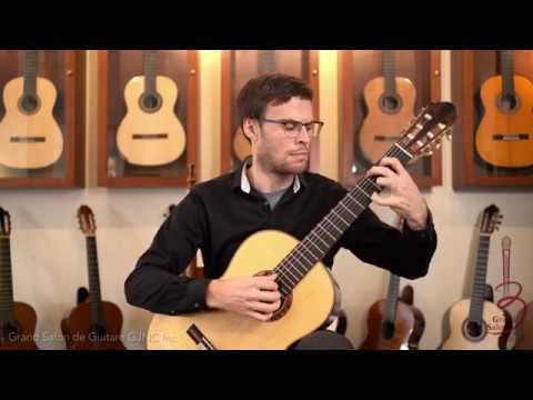 Renaud Cote Giguere Performs Couleur De Soie on Michael Thames Double Top Guitar
