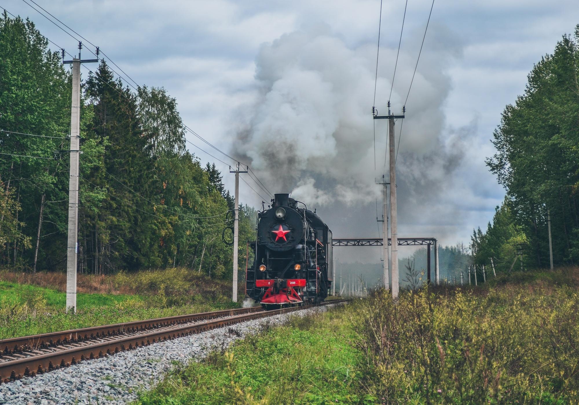 Паровоз Л-2198 на линии Валдай – Долгие Бороды - Фото