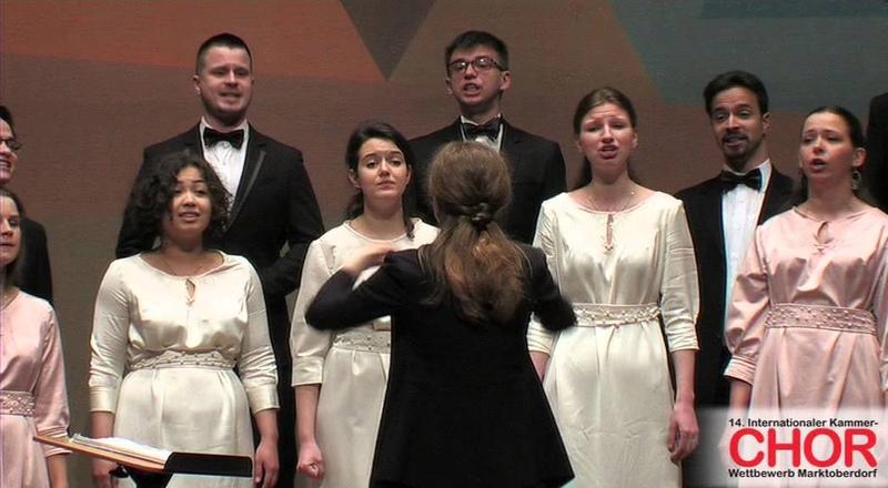 Clement Janequin Le chant des oyseaux Festino Chamber Choir Dir Alexandra MakarovaЪ