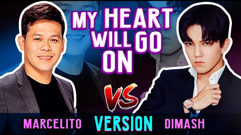 Dimash and Marcelito Pomoy Incredible Rendition of My Heart Will Go On Amazing Performance