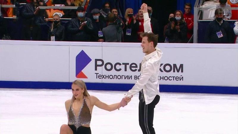Женщины Танцы нальду Пары Произвольная программа Rostelecom Cup Гран при пофигурному катанию 2020 21