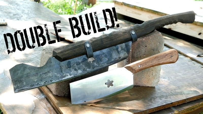 How to Make RAZOR SHARP Lawn Mower Blade CLEAVERS