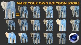 Create Your Own Low Poly Look: Cinema 4D Tutorial