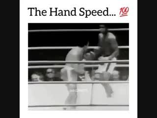 Мухаммед Али и его невероятная скорость