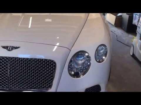Bentley Continental Convertible UNDENTED paintlessdentrepair Bentley pdr undented