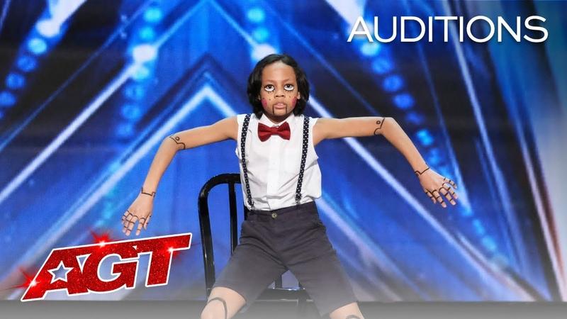 Kid Dancer Noah Epps Delivers Cool Marionette Performance America's Got Talent 2020