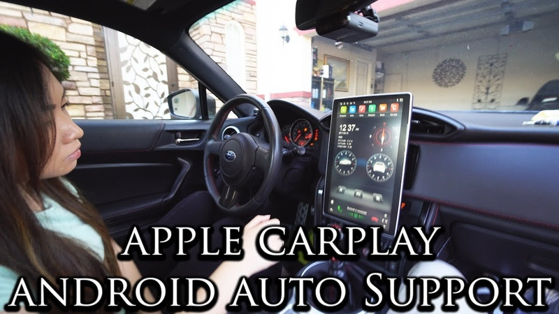 The biggest 13 INCH Head unit into a SMALL Car Install