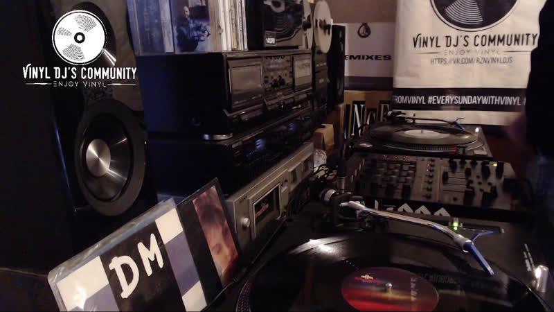 DJ YURA ONEGIN VINYL HOME LIVE MIX 31 03 2019