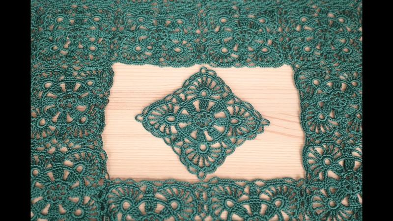 СОЕДИНЕНИЕ МОТИВОВ крючком мастер класс Как соединить мотивы между собой вязание блузки crochet