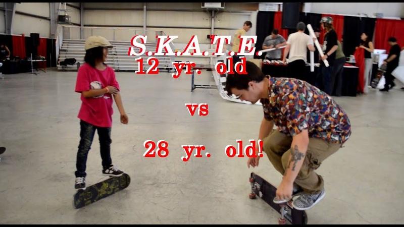 S.K.A.T.E. Isamu Yamamoto vs Daniel Trujillo