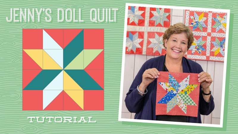 Learn How to Make Jenny's Doll Quilt