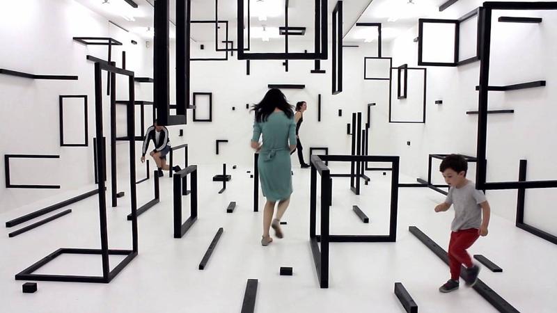 Esther Stocker Kunsthalle Krems 2016