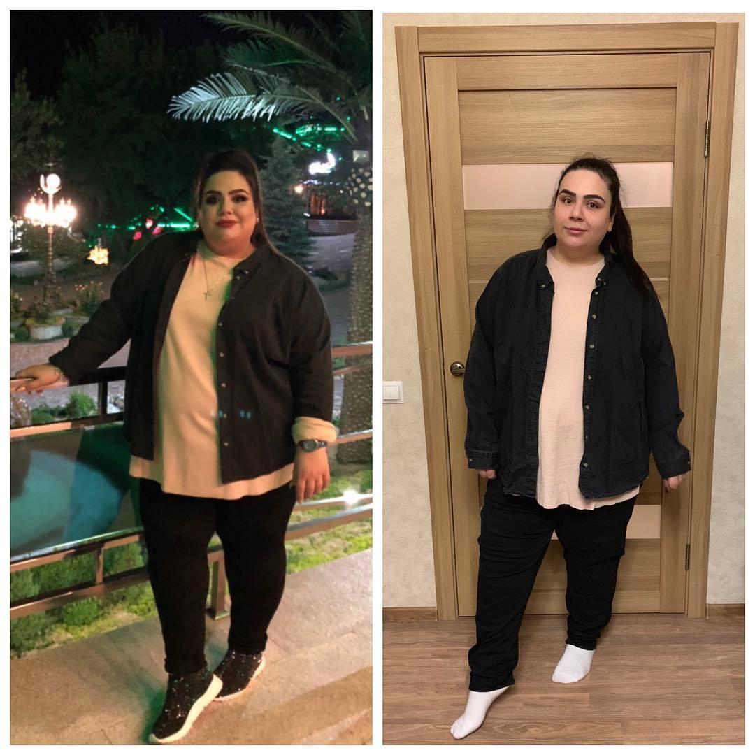 Итог похудения - минус девяносто килограмм!