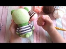 Мармеладный мишка 2 часть - вяжем тело. Мастер класс игрушка амигуруми крючком.